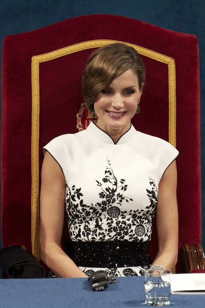 King Felipe, Queen Letizia and Queen Sofia attend the Princess of Asturias Awards ceremony 2017