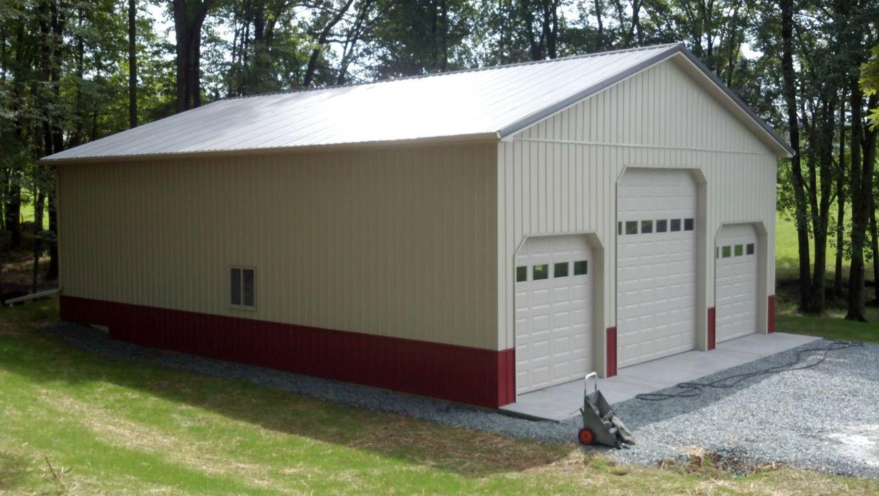 36x48x14 Residential Garage in Zions Crossroads VA