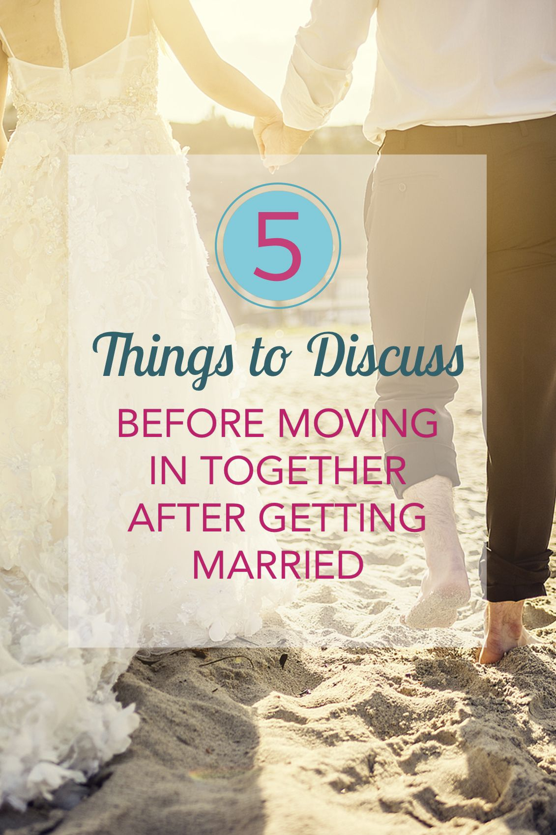 Things to discuss before moving in together