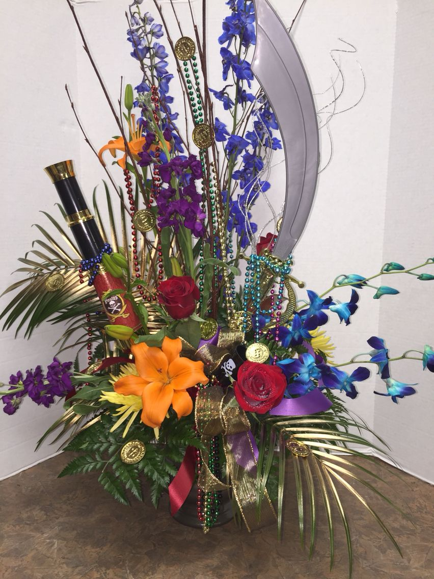 Gasparilla In Tampa A Festive Arrangement For Your Guests To Enjoy