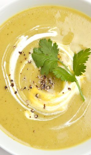 This curried squash soup is as easy as it is delicious.
