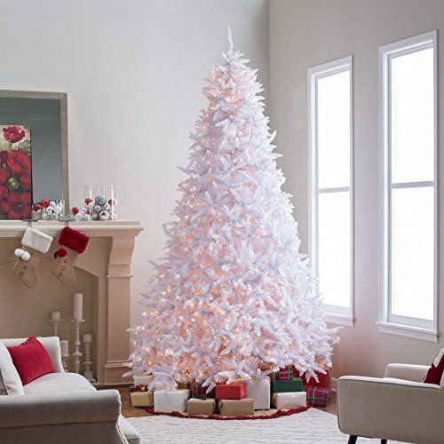 10 ft winter park full pre lit christmas tree http