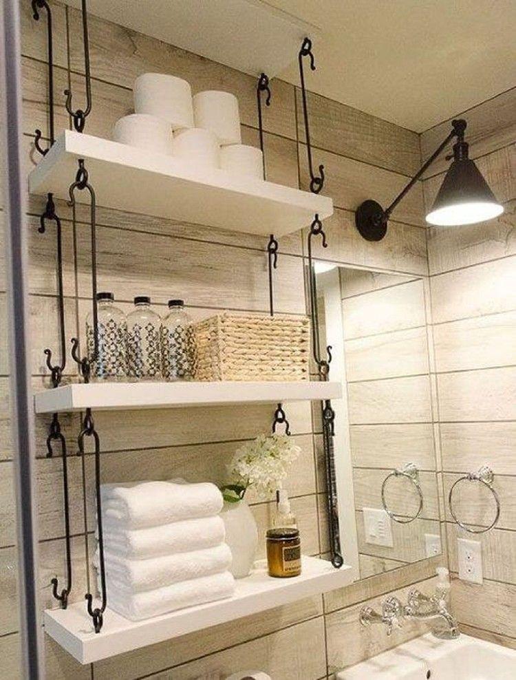 45 Beautiful Small Bathroom Vanities Design Ideas #bathroomdesign