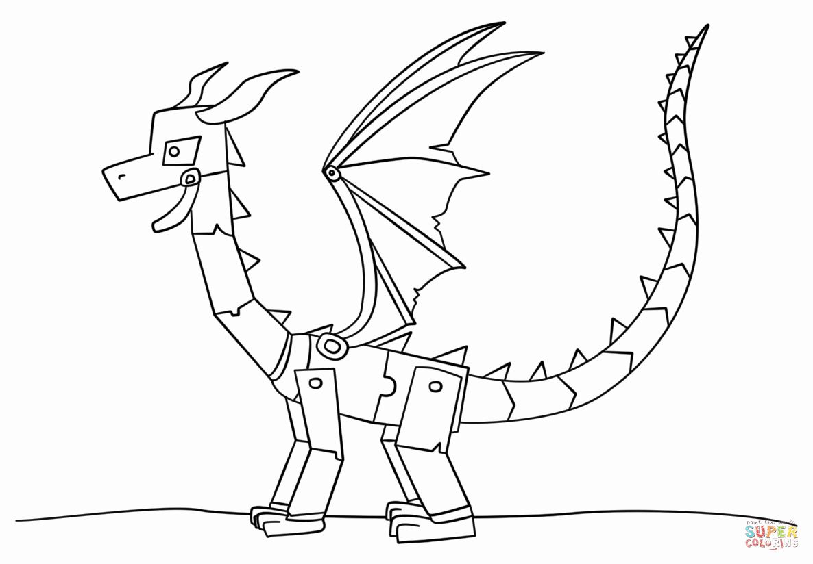 Ender Dragon Coloring Page Luxury Minecraft Ender Dragon Coloring Page Dragon Coloring Page Minecraft Ender Dragon Coloring Pages