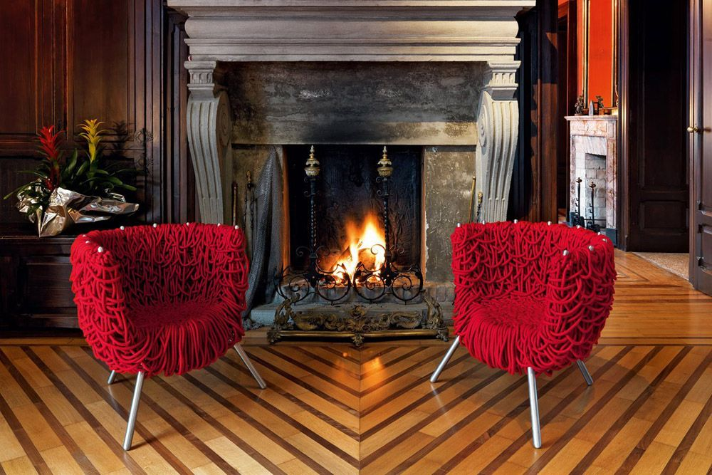 Rossetto Sedie ~ Poltroncine: poltroncina vermelha da edra armchairs pinterest