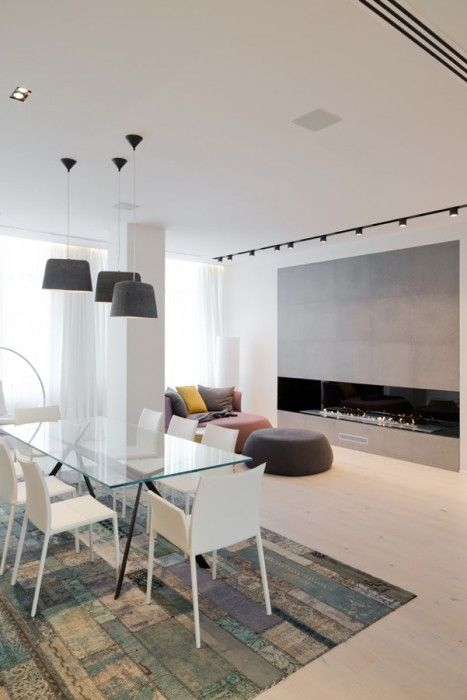 new arbat apartment moscow russia by slproject
