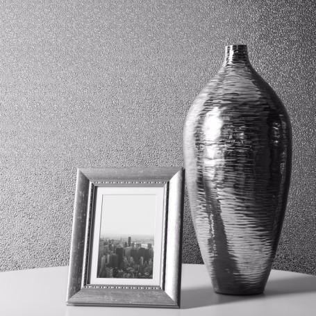 Muriva Wallpaper | Couture Amelia Silver Metallic | 701430
