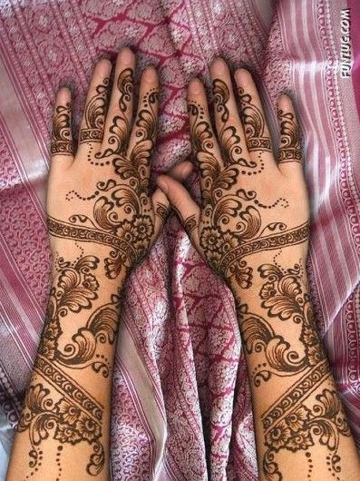 Used this design for my first mehndi on my palm.  I need to find someone to practice on so I don't end up covered in henna :)
