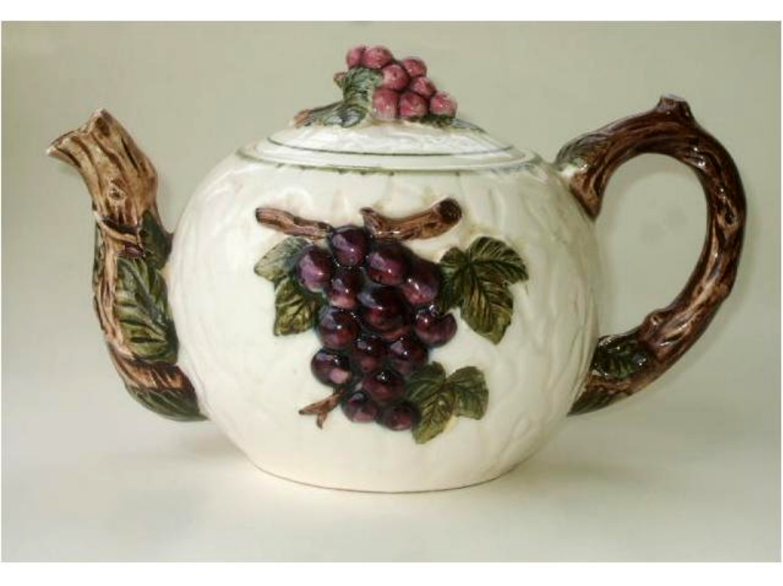 Add a warm cozy feeling to your grape themed kitchen with this cute