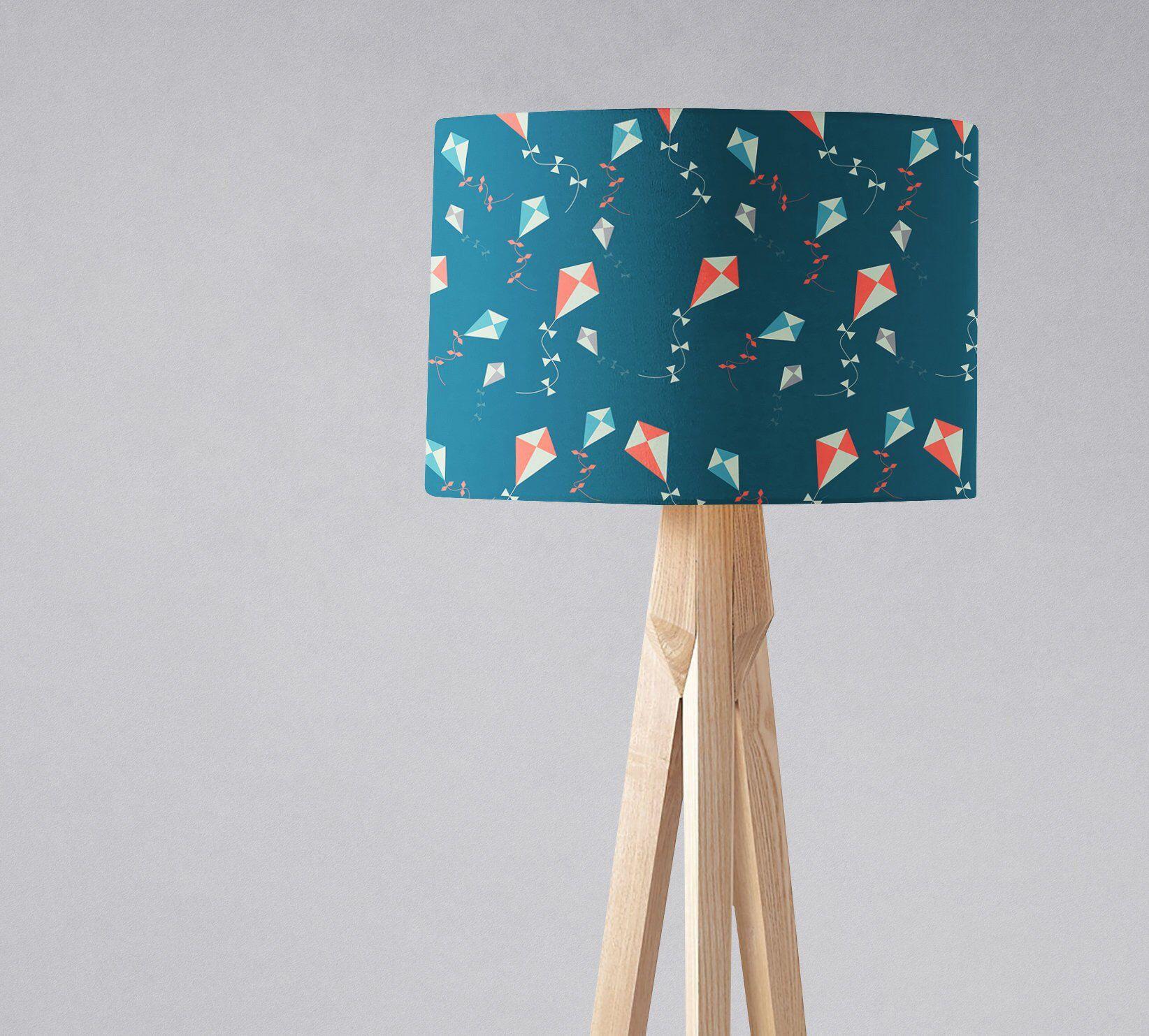 Kite Lampshade Decor Drum Light