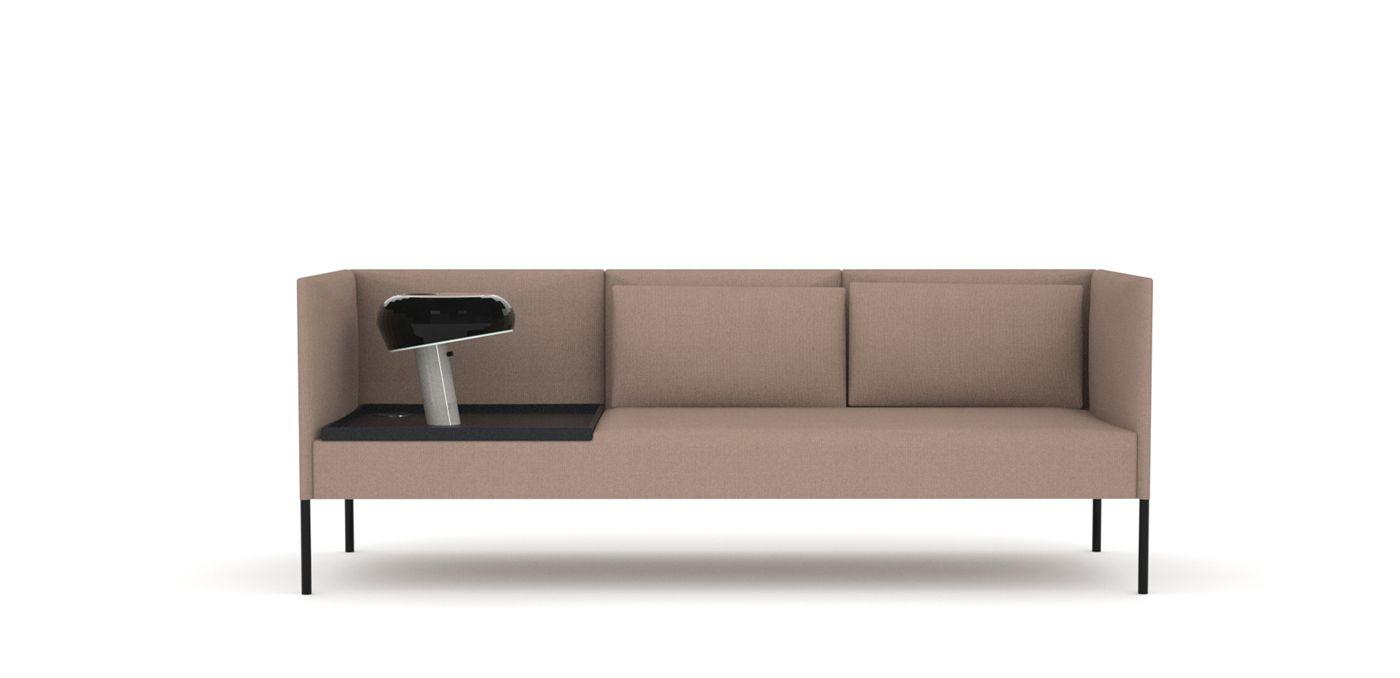 Molto Sofa Individual 3 Plz   Table