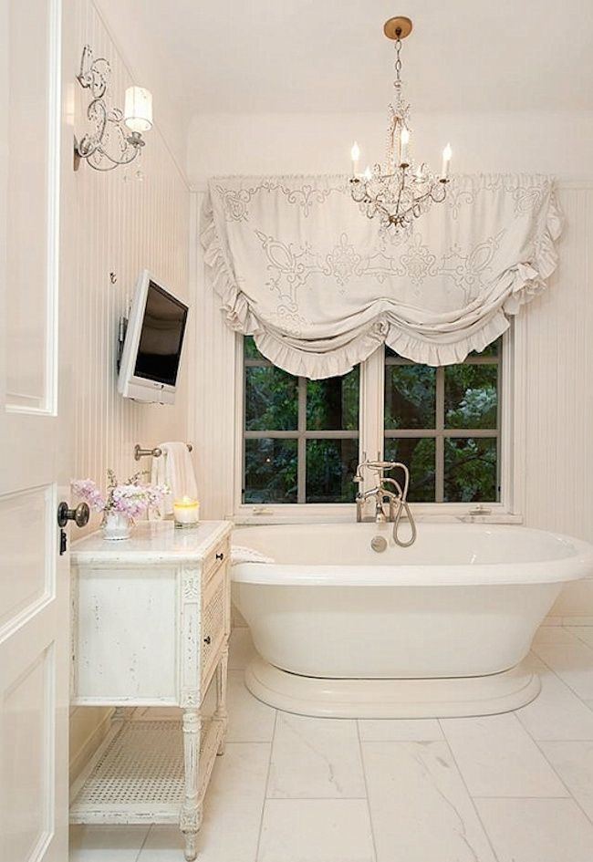 Photo Album Gallery  Lovely And Inspiring Shabby Chic Bathroom D cor Ideas DigsDigs