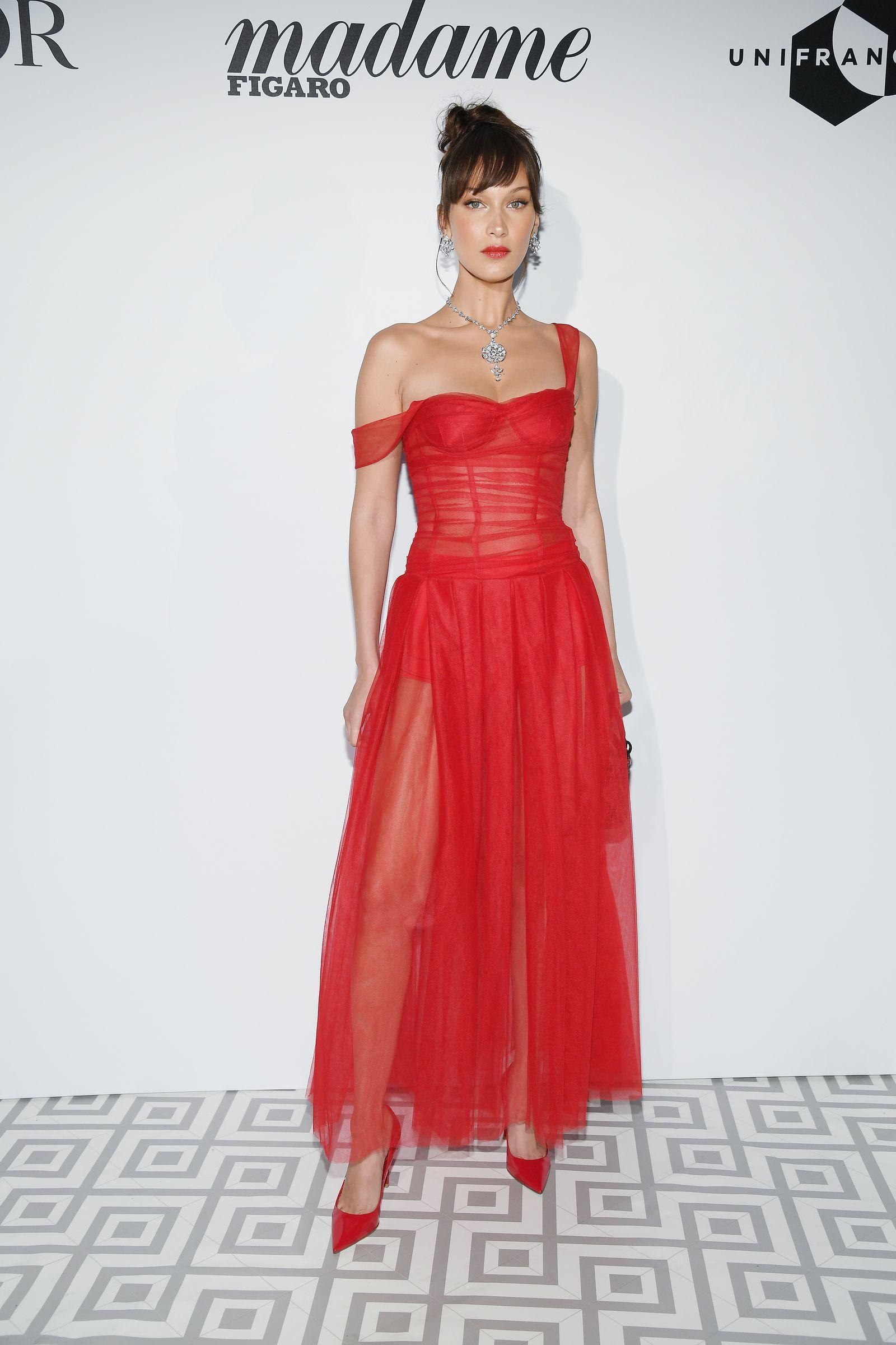 19+ Bella hadid red dress ideas