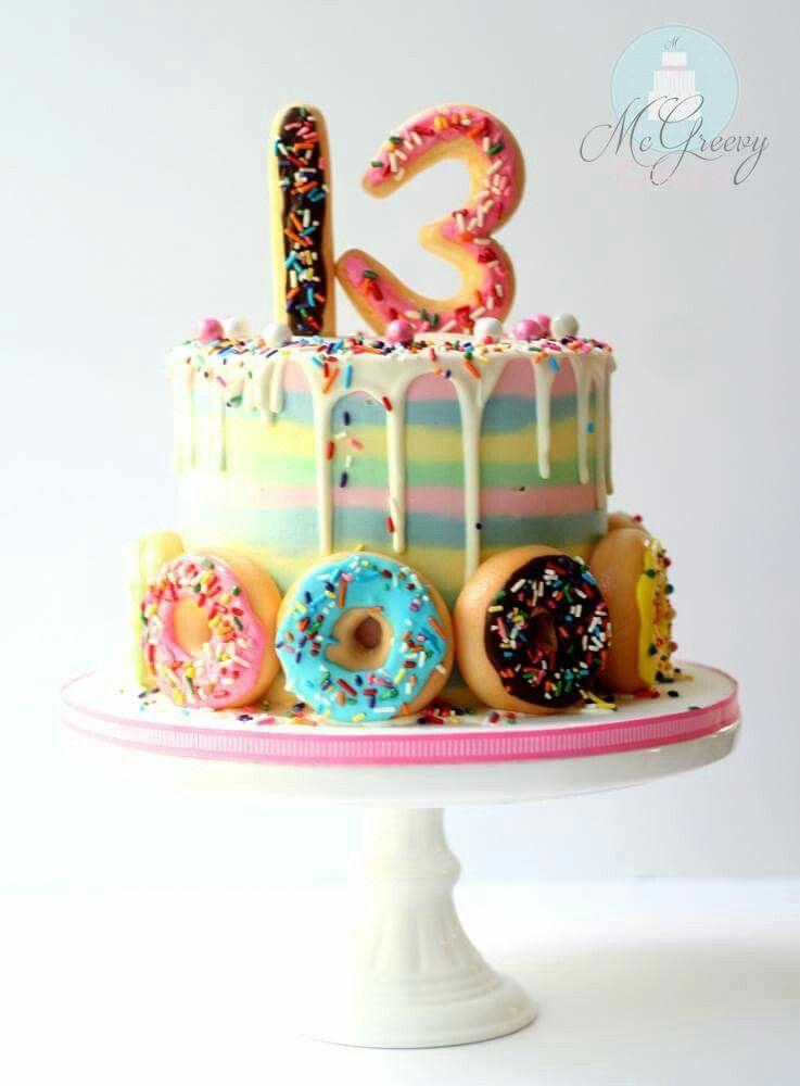Geburtstag Kuchen Von Margarita Klein Auf Geburtstag 13