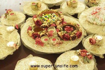 Diy Mehndi Plates : Mehndi thaal decoration superfunsite wedding decor