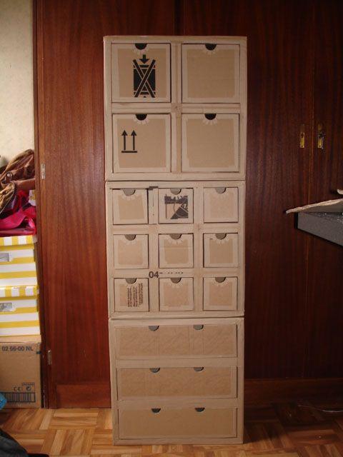 Atelier Idiartia Meuble En Carton Rangement Carton Mobilier En Carton Meuble En Carton
