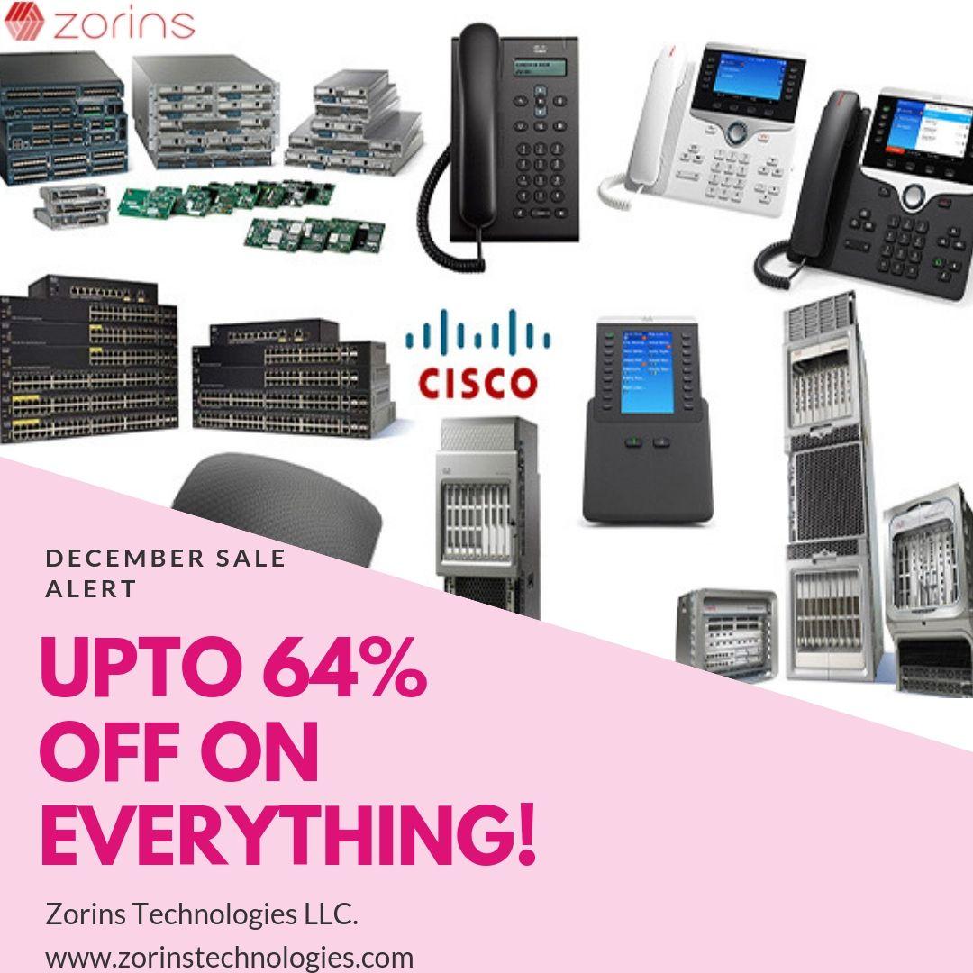 December Sale Alert Cisco Technology It Network