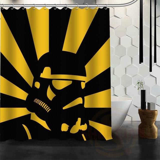 StarWars Shower Curtain Waterproof Rogue One A Star Wars Story Heavy Weight