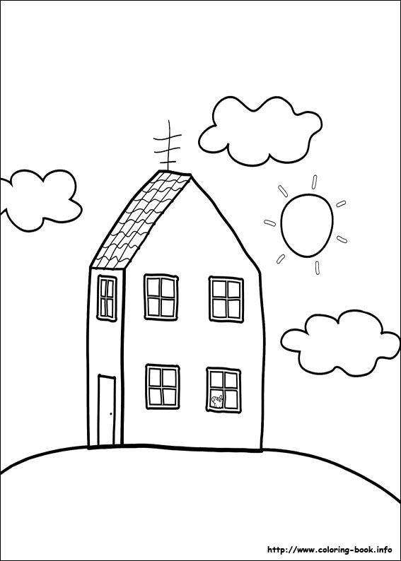 Peppa Pig Coloring Picture Peppa Pig Coloring Pages Peppa Pig Colouring Peppa Pig
