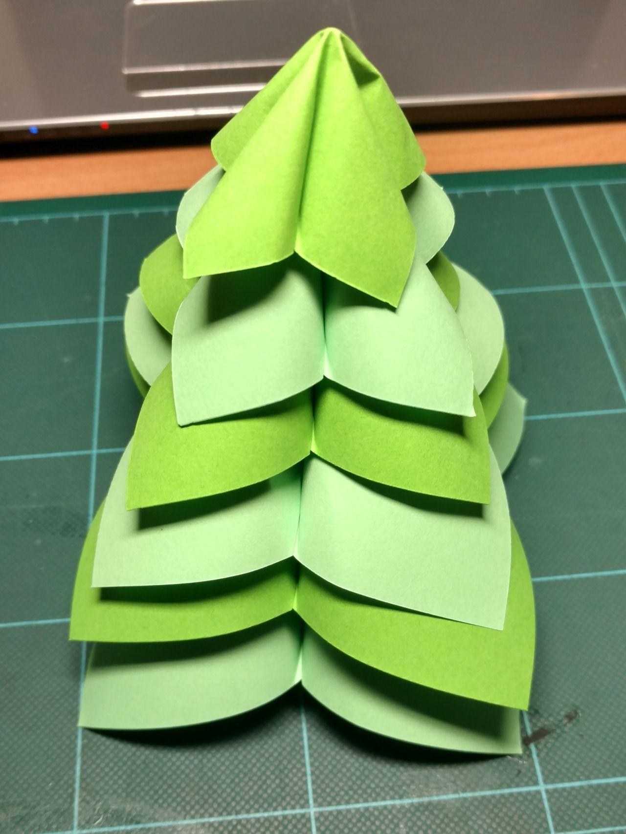 Origami Christmas Tree Instructions Httpsyoutubewatchv