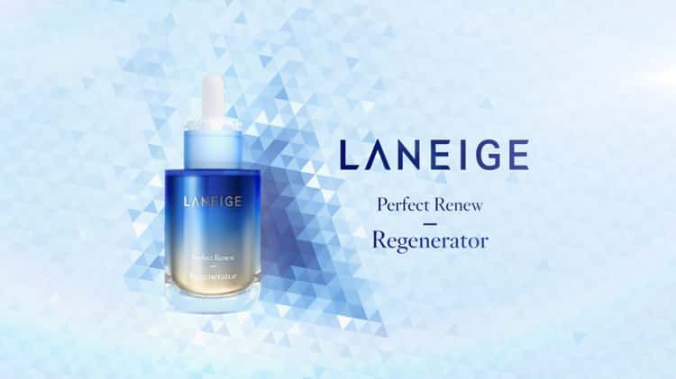 Laneige Perfect Renew On Vimeo In 2020 In Cosmetics Retail Design