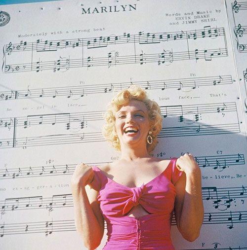 Marilyn Monroe – as pretty as a love song.