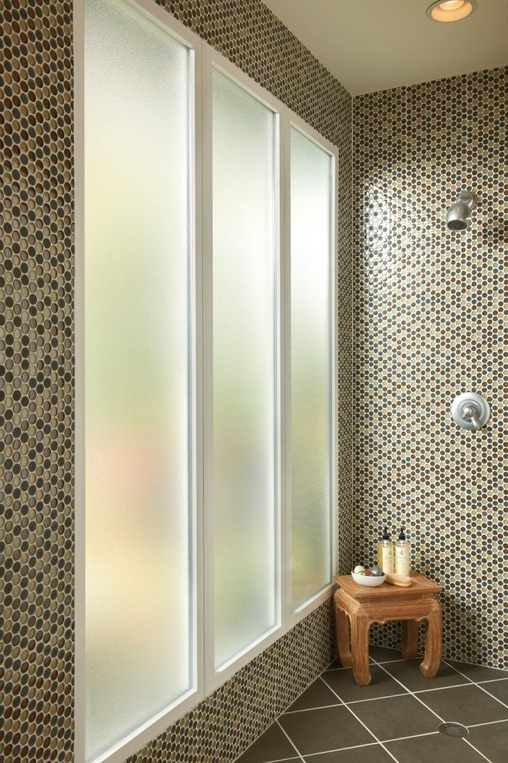 Privacy glass for bathroom windows - Design Tips In The Bathroom Shower Obscure Glass Offers Privacy While Letting In Light