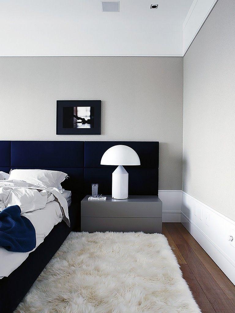 Tapete De Pelos Em Quarto Contemporaneo Interiores De Quarto Quartos Modernos Casal Tapetes Quarto Casal