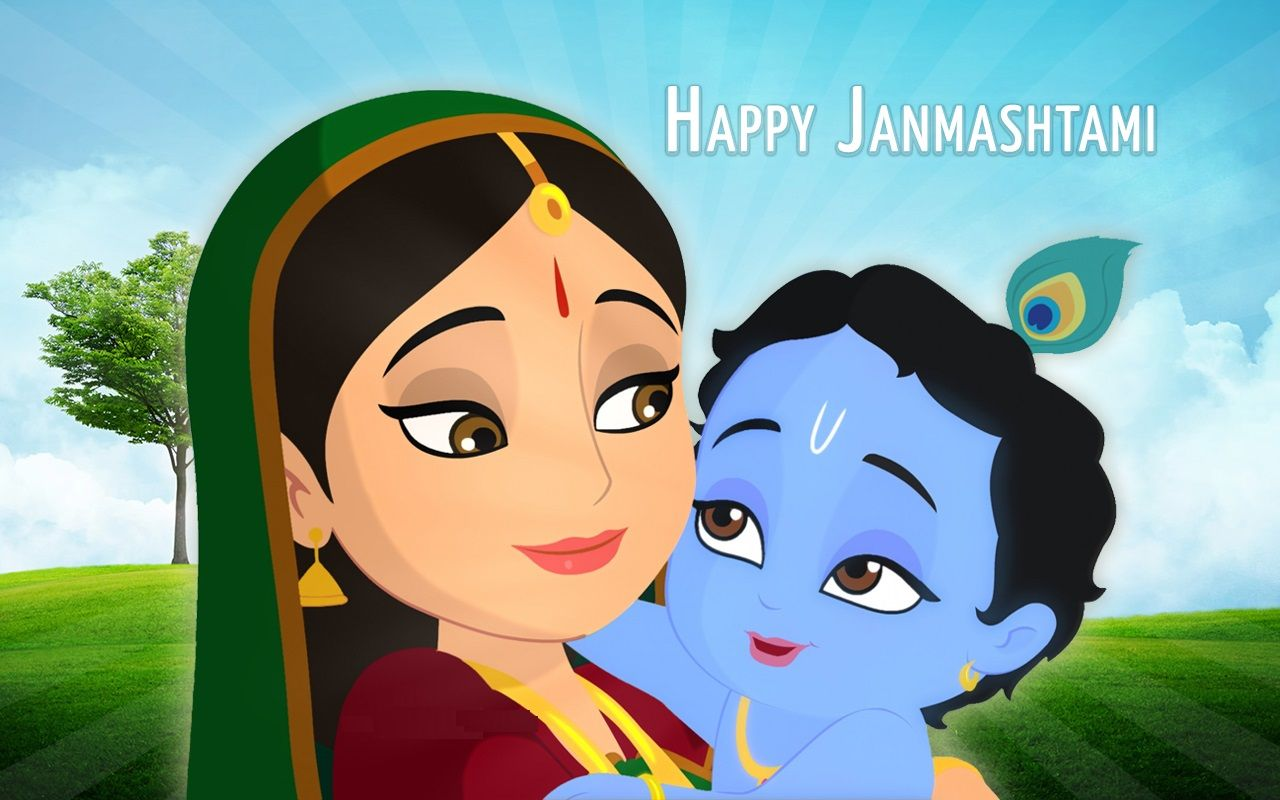 Happy Birthday to Our Lord Krishna | Send Chocolates & Cake Online ...