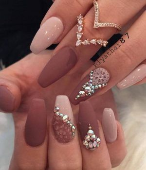 Dimonds Nails Pretty Diamond Nail Designs Diamond Nailart Nails