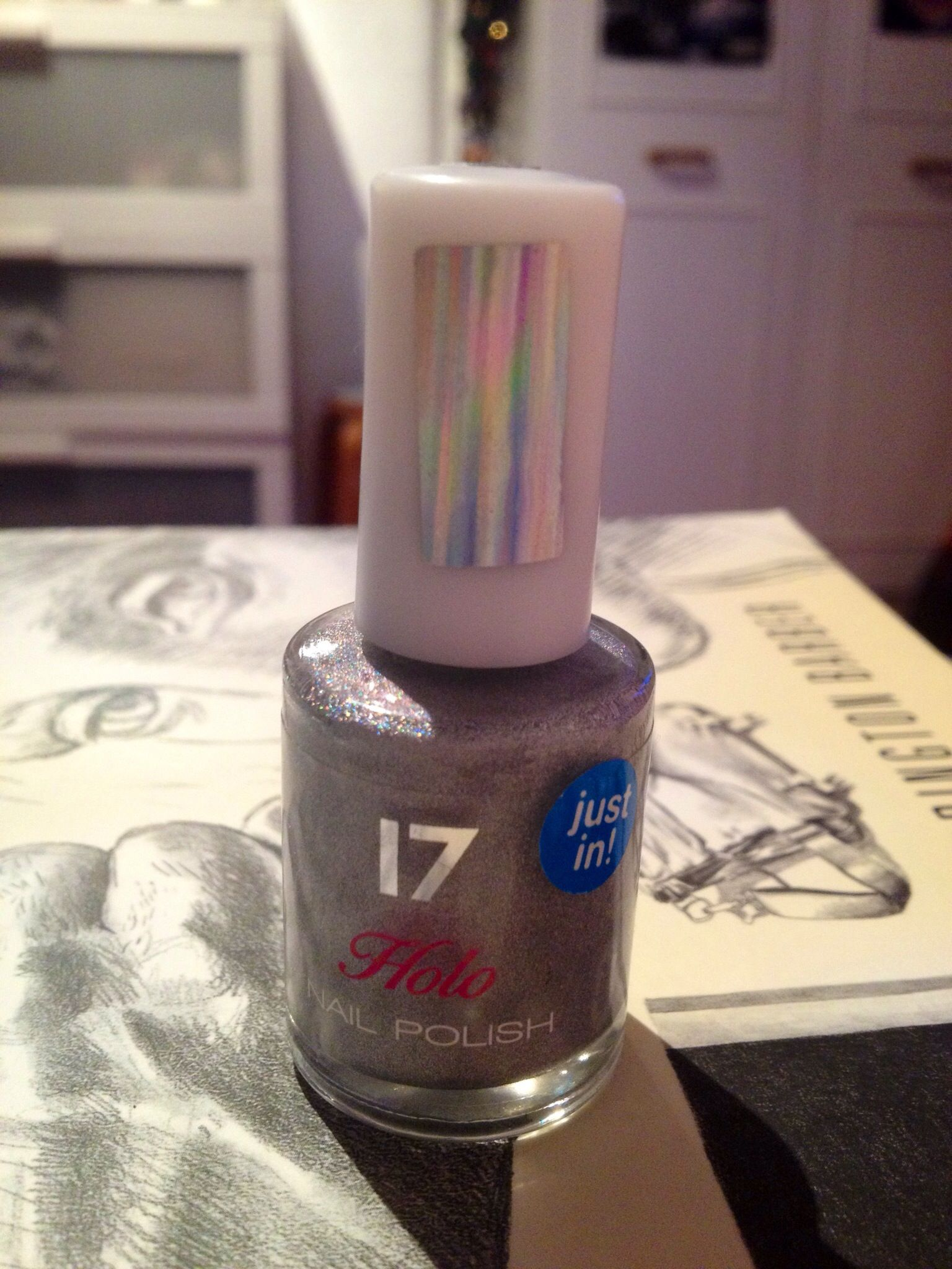 This is a 17 (boots teen range) polish, it\'s called \