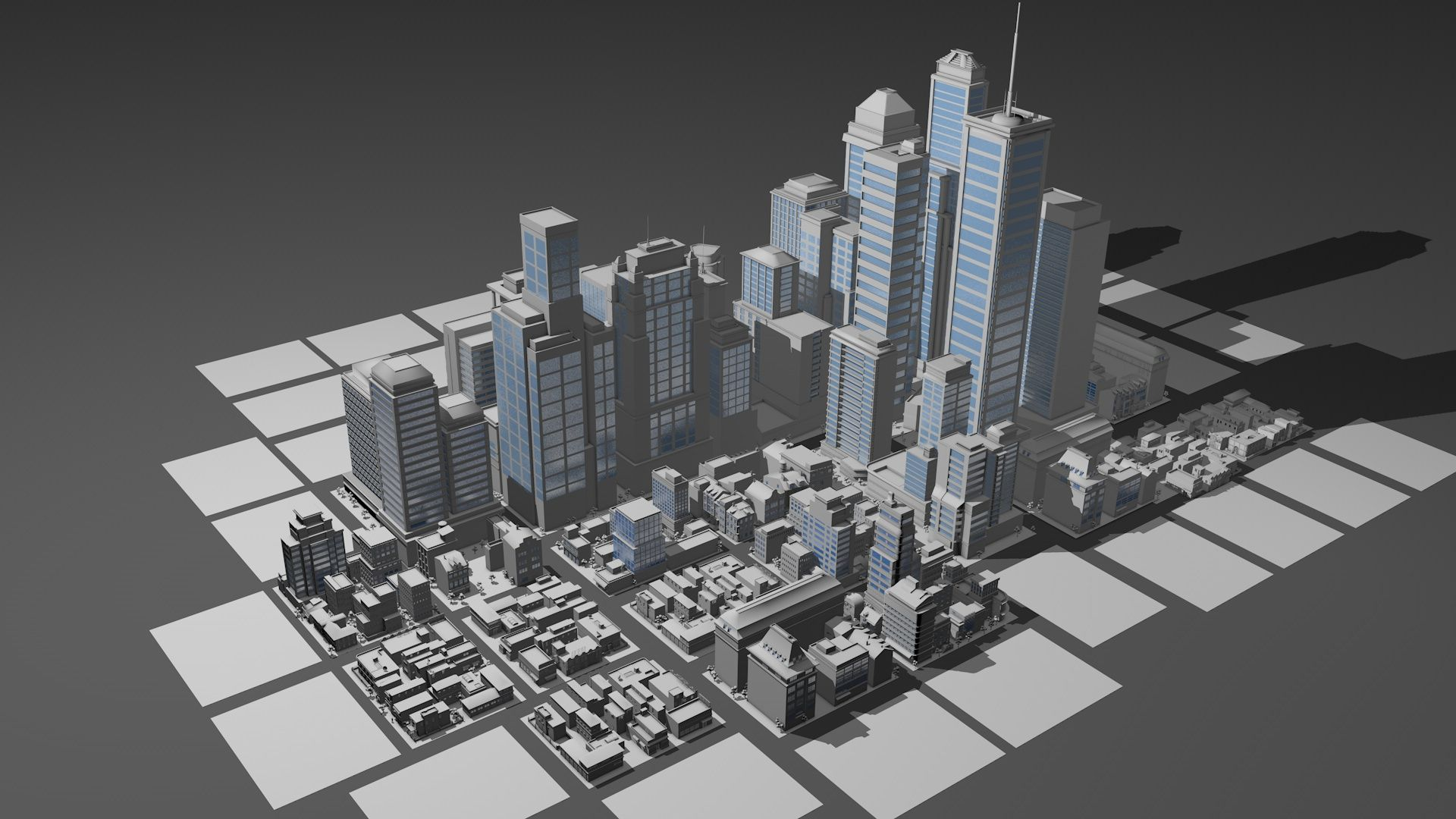 City Pack With More Than 60 Individual Building #Pack, #City