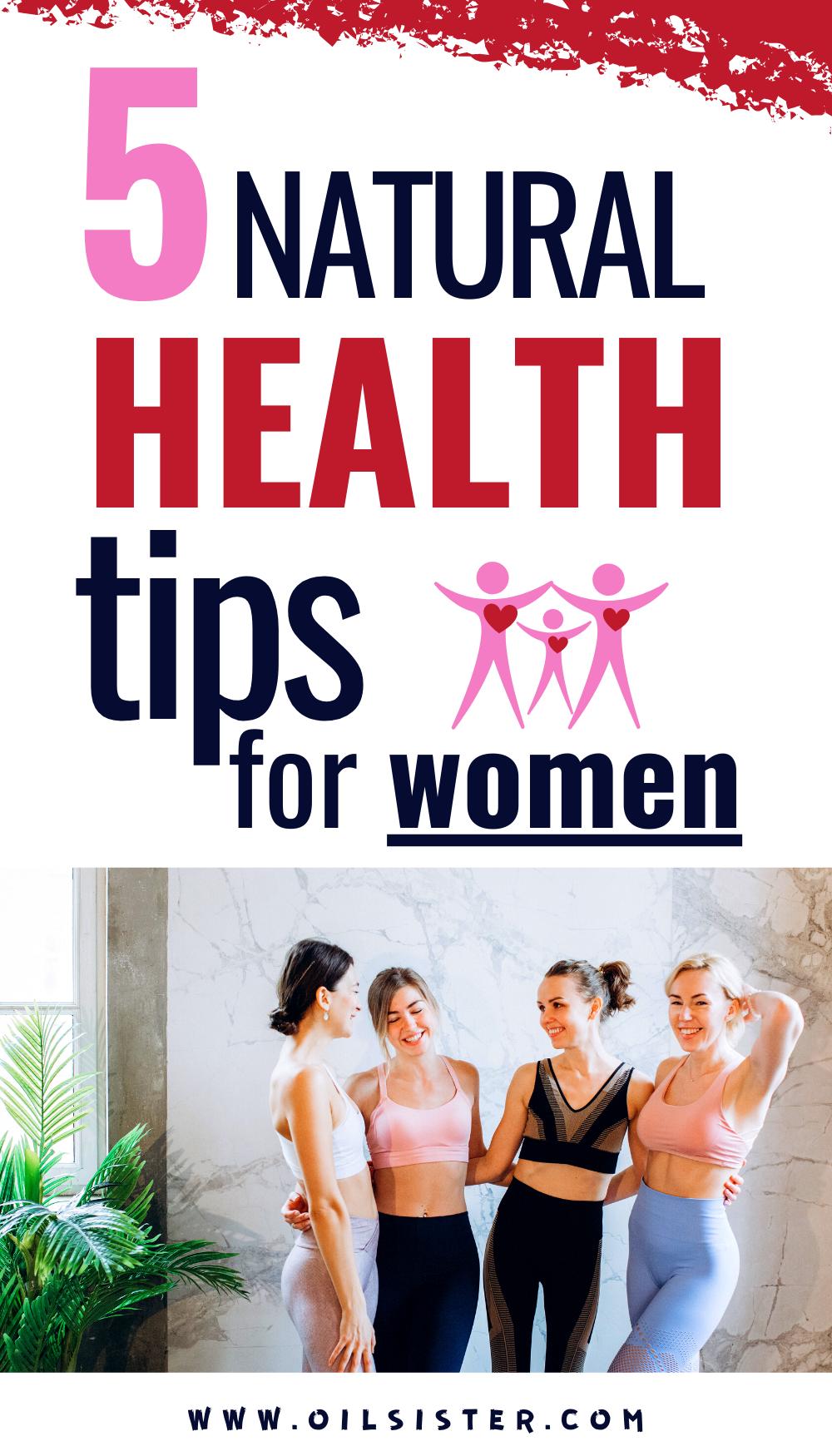 Women health tips natural
