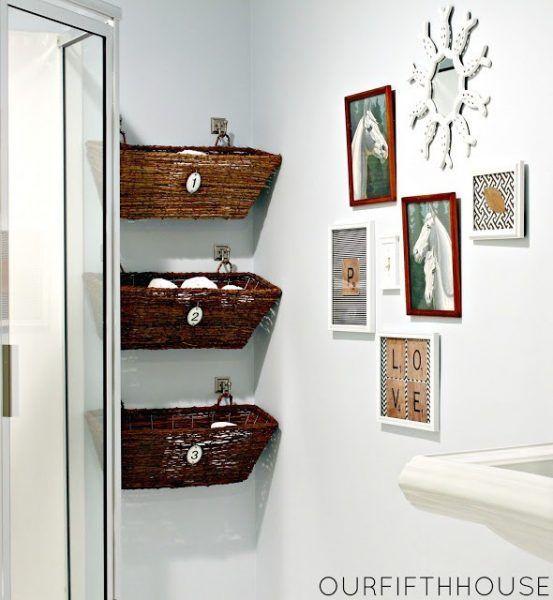 Ideas para baños pequeños Western decor, Small places and