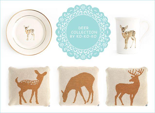 Deer Collection by ko-ko-ko
