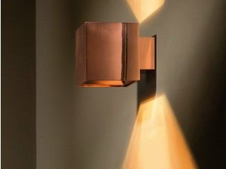 Direct Indirect Light Wall Light Dartling Up Down Copper Wall Light Technical Architectural Lighting Copper Wall Light Wall Lights Wall Lamp Interior