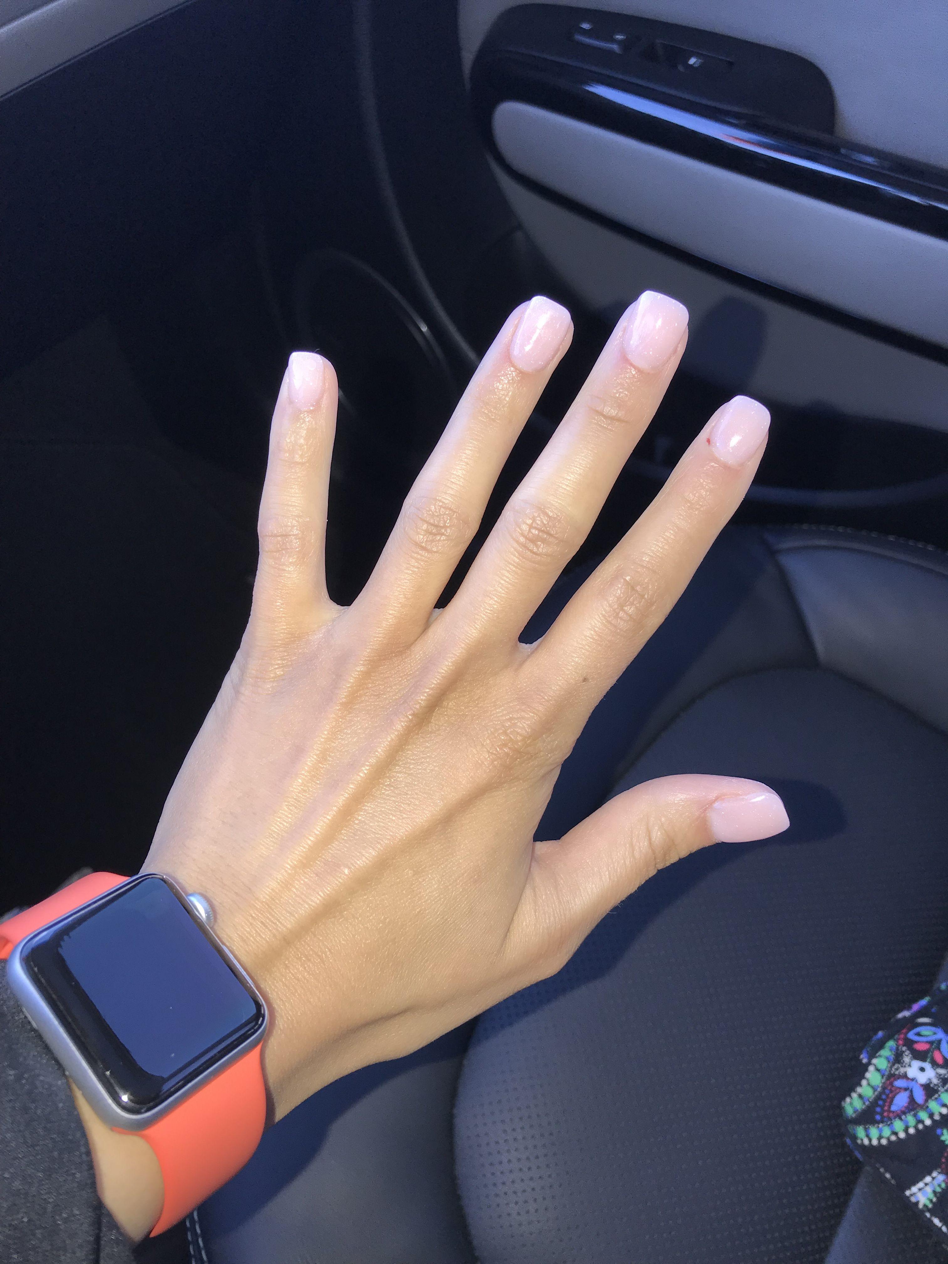 Powder Dip Nails   Beautiful!   Pinterest   Dipped nails, Short ...
