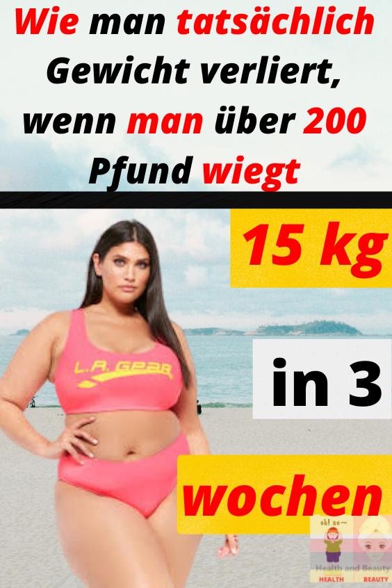 15 kg in 3 wochen…!
