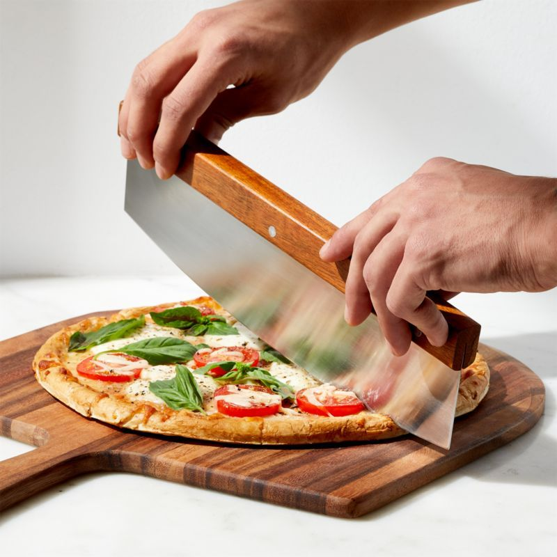 Rocker Pizza Cutter Reviews Crate And Barrel In 2020 Homemade Pizza Fruits And Vegetables Images Rocker