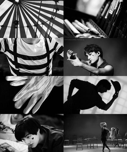 Le Cirque des Reves // EXO // Kai as the Mime