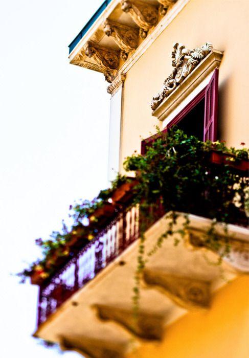 un balcon a beyrouth