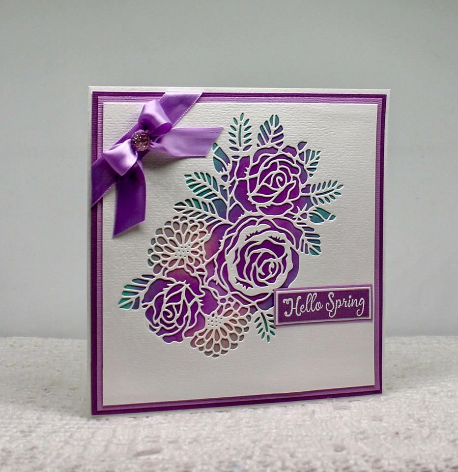 This Fast And Easy Handmade Card Was Created Using The Spectrum Noir