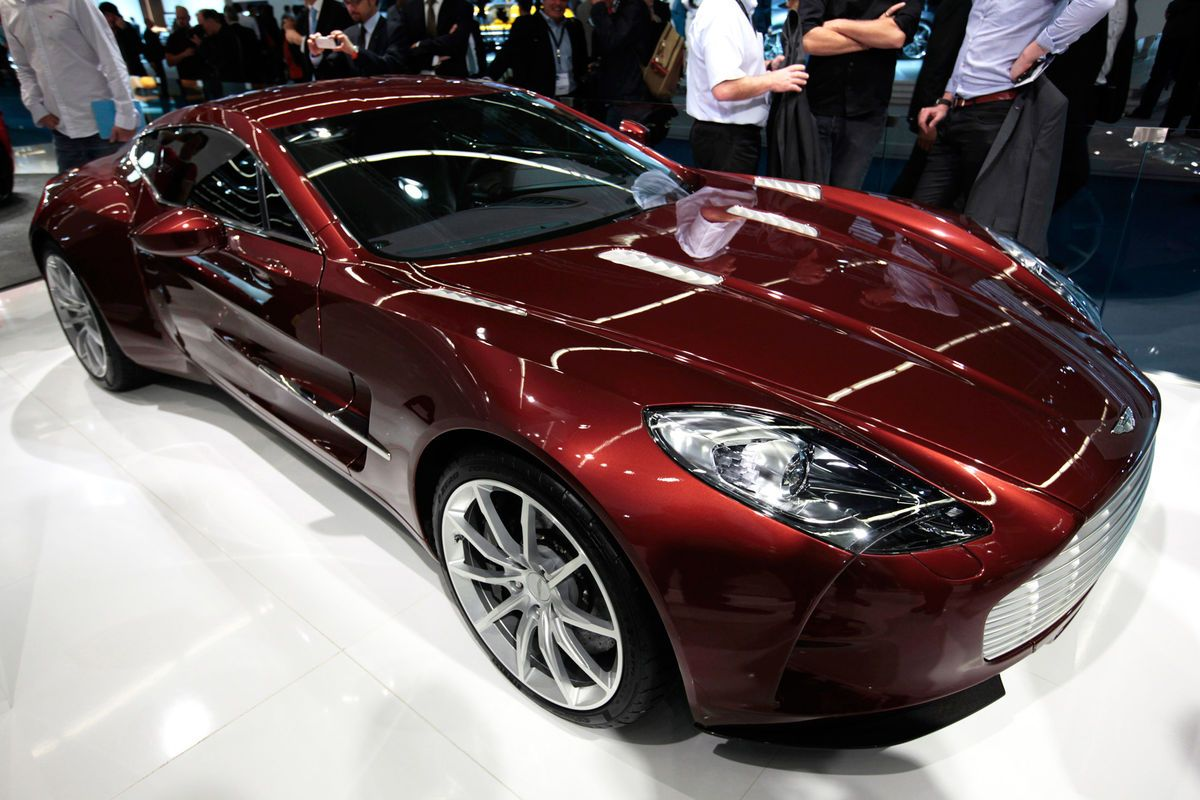 Delicieux Vehicle · The Aston Martin One 77 ...