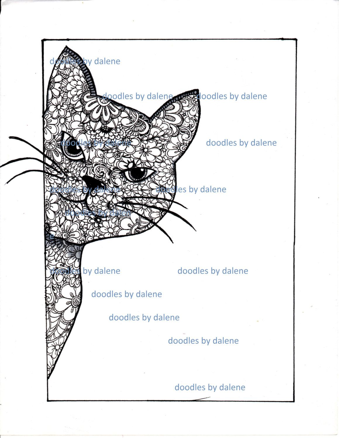 Printable Warrior Cat Coloring Pages