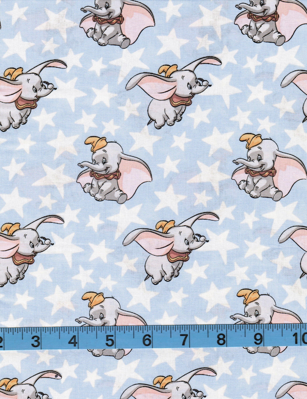 Sky Blue Bunny Rabbit /& Butterfly Woodland Printed 100/% Cotton Poplin Fabric.