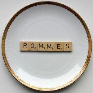 Wandteller Pommes | Herr Fuchs