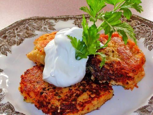 Potato Pancakes From Mashed Potatoes #potatopancakesfrommashedpotatoes Fry (cry) your Heart out German-Style Crisp Potato Pancakes #potatopancakesfrommashedpotatoes