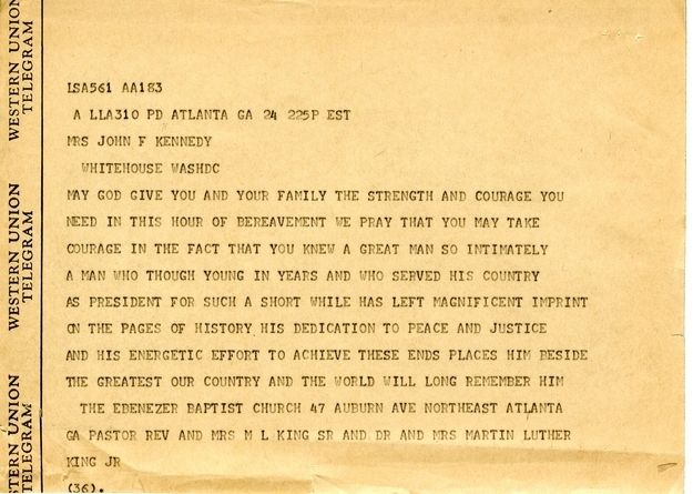 9 Heartfelt Condolence Letters Jackie Kennedy Received From Famous - new example letters to a congressman