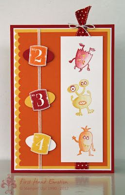 Stampin' UP! by First Hand Emotion: Make a Monster