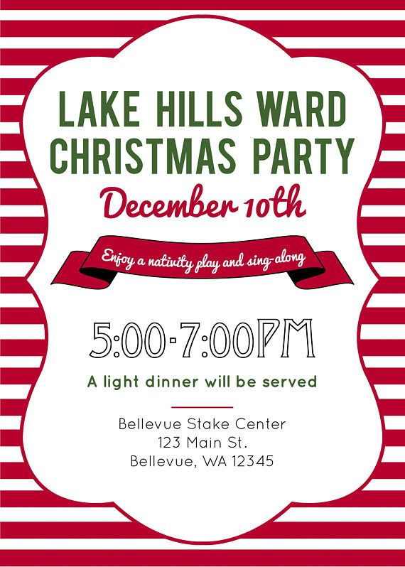 graphic about Printable Christmas Party Invitations known as Pin upon Solutions